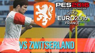 NEDERLAND EK2016 CHALLENGE - #1 VS ZWITSERLAND