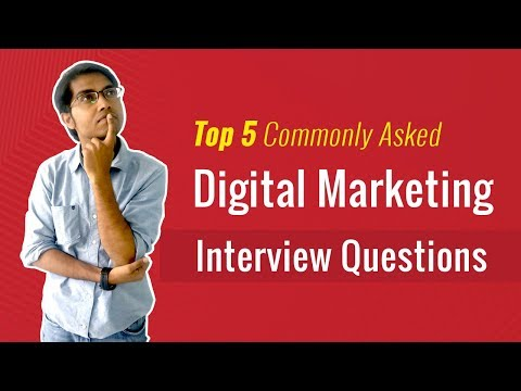 Top 5 Commonly Asked Digital Marketing Interview Questions