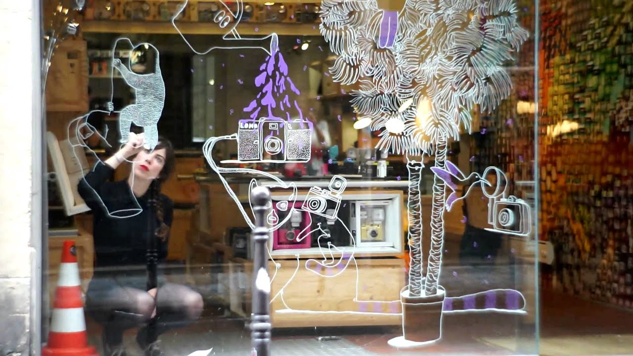 Shop Window Decoration in the Lomography Gallery Store ...