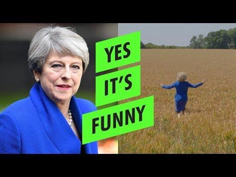 La increíble reacción de Theresa May tras dimitir como primera ministra