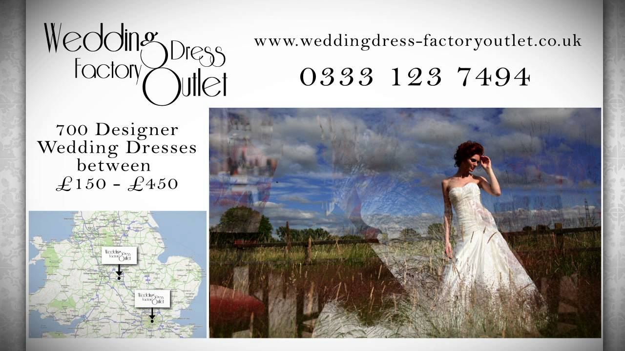 Wedding Dress Factory Outlet On Tv Youtube