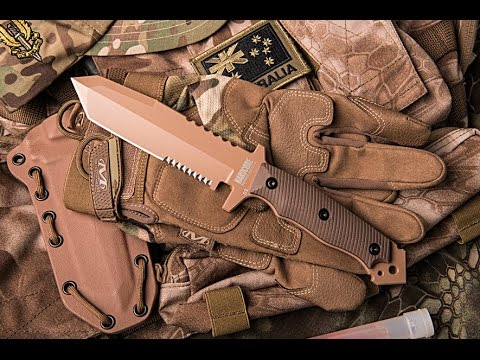 Hardcore Hardware Australia MFK-02 Tactical Knife (Desert Tan)