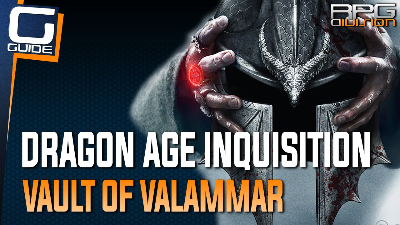 Dragon Age Inquisition Vault Of Valammar Gears Door With Broken Mechanism Youtube