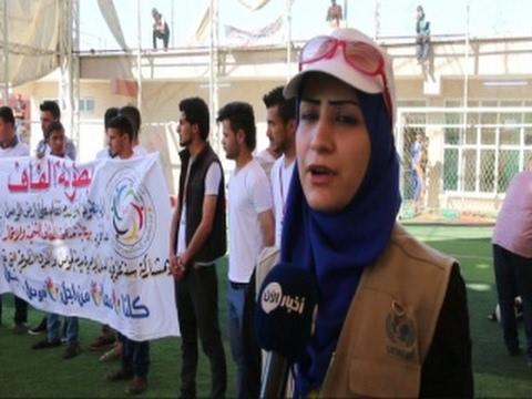أخبار حصرية - أول بطولة كروية في #الموصل بعد إنقطاع لثلاث سنوات  - 20:22-2017 / 4 / 18