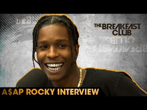 A$AP Rocky Interivew With The Breakfast Club (7-20-16)