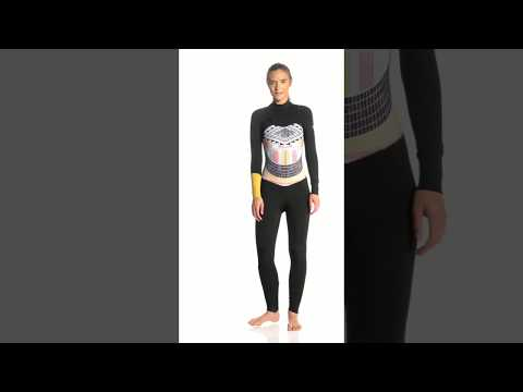 2aef8861c80 Roxy Women's 3/2MM Pop Surf Chest Zip Wetsuit | SwimOutlet.com - YouTube