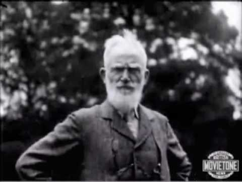 Fabian Socialist George Bernard Shaw Praises Mussolini, other dictators