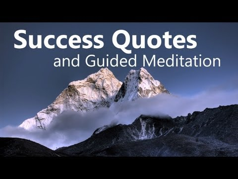 Success Quotes & Meditation