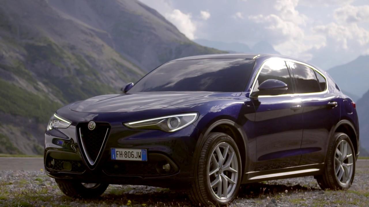 Alfa Romeo Stelvio Drive Day Exterior Design In Blue Automototv