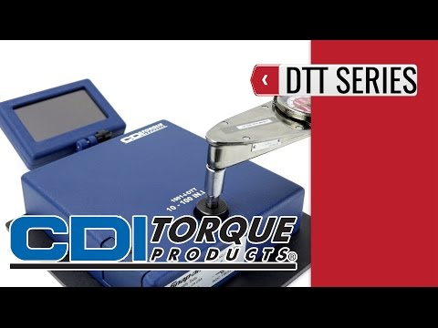 CDI Digital Torque Testers series DDT (product video presentation)