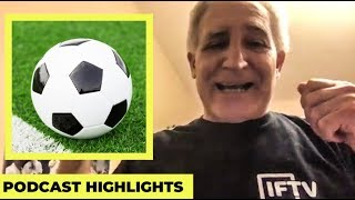 How it s like to grow up playing football in Italy Serie A Podcast Highlights