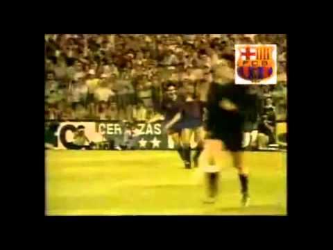 Chamartín se rinde a Diego Armando Maradona, Copa de la Liga 1982-83