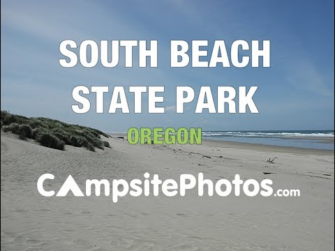 South Beach State Park Oregon Campsite Photos