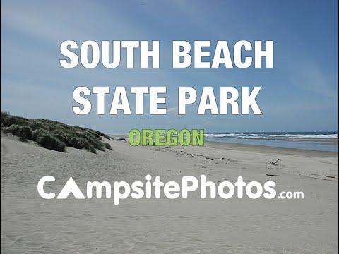 South Beach State Park Oregon Campsite Photos