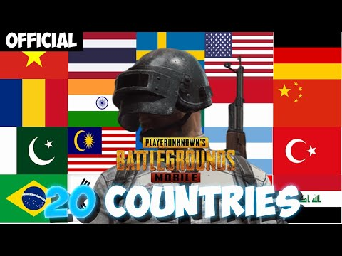 Best Player In Every Country | Pubg Mobile