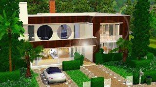 MINHA PRIMEIRA CASA MODERNA NO THE SIMS 3 *-* │The Sims 3 (Speed Build)