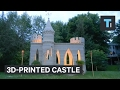 This man 3D-printed a castle in his backyard