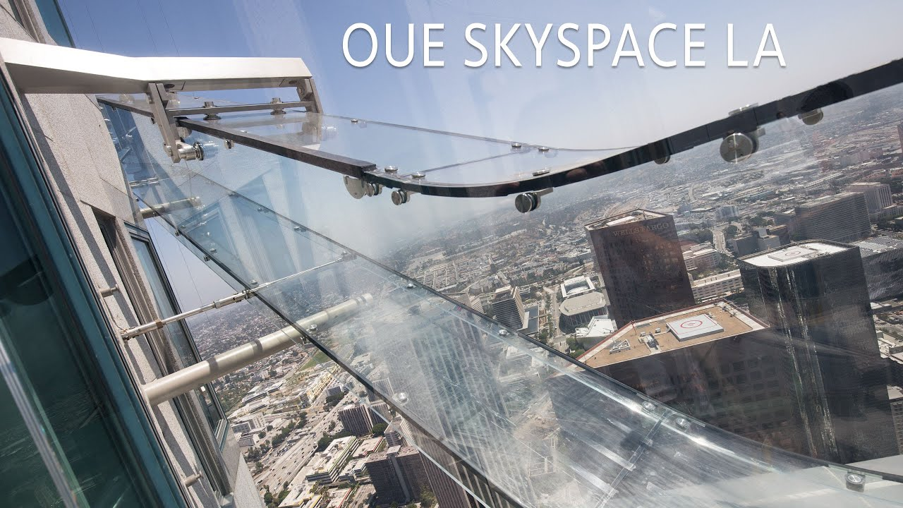 Riding The Glass Slide Other Highlights From Oue Skyspace In Los