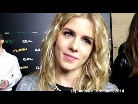 Emily Bett Rickards talks 'Arrow'/'The Flash' crossover