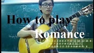 (Học guitar) Bài 5c Romance