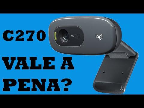 Teste Webcam Logitech C270 - Review