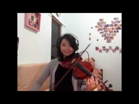 The A Team Violin Cover - Ivana Fei