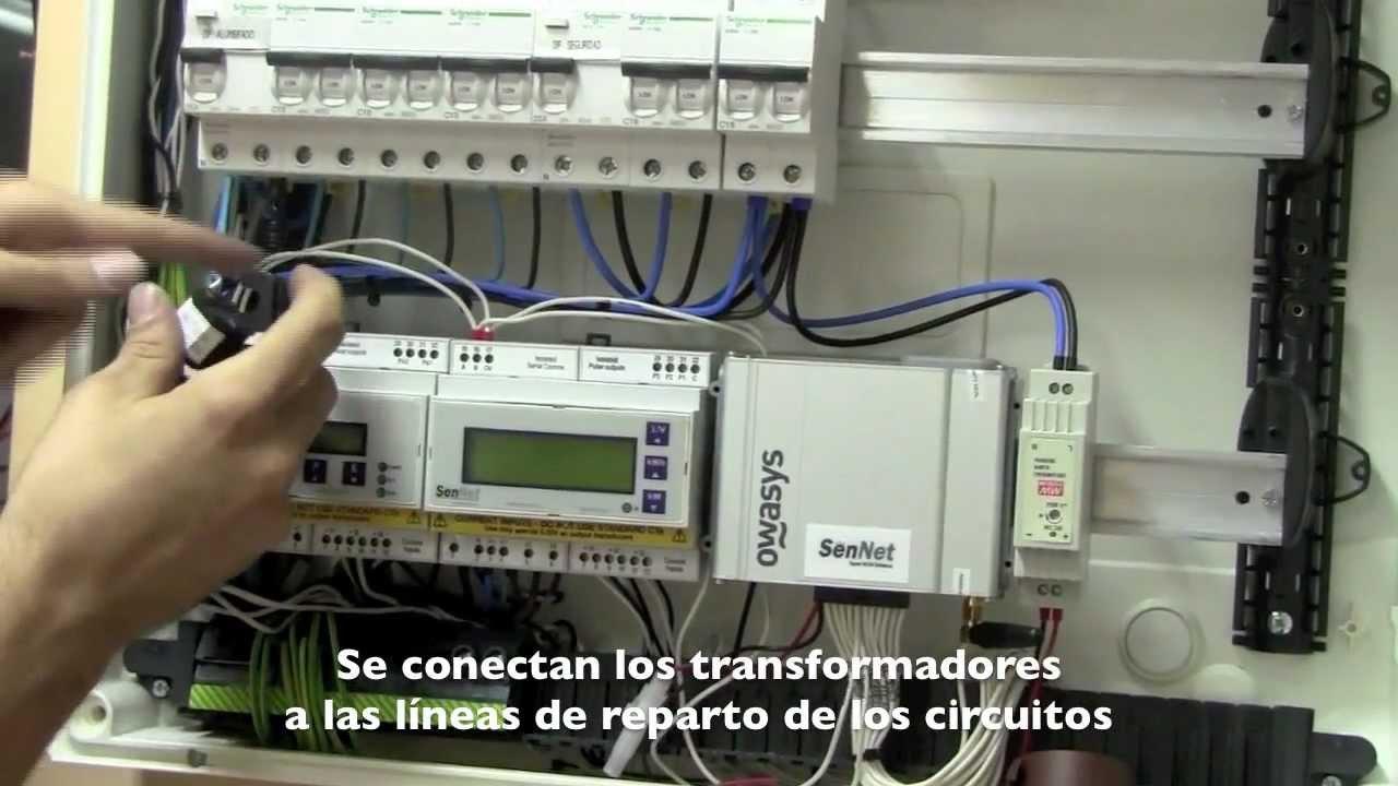 Integraci n de consumos en un cuadro el ctrico de peque a for Como montar un cuadro electrico