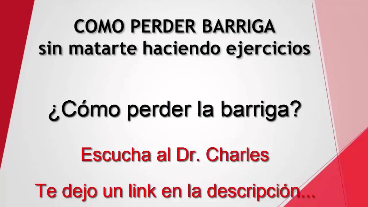 CÓMO PERDER BARRIGA RÁPIDO - YouTube