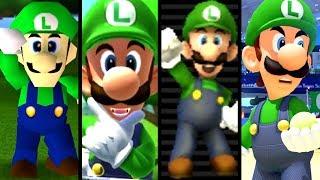 Super Mario Evolution of LUIGI