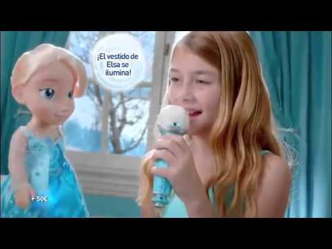 Frozen Elsa Canta Conmigo  - Juguetes Madrid