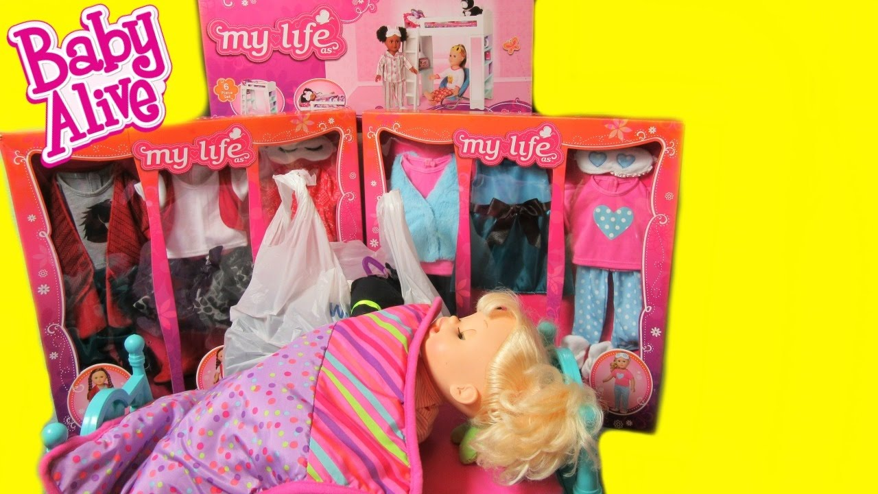 My Life As Clothes And Bunk Bed From Walmart For Our Baby Alive Doll