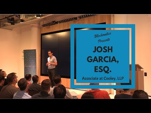 ICOs: The New Fundraising Sensation - Josh Garcia, Esq.