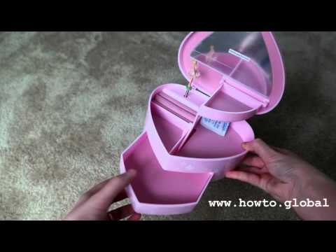 Musical jewelry box with dancing ballerina, review