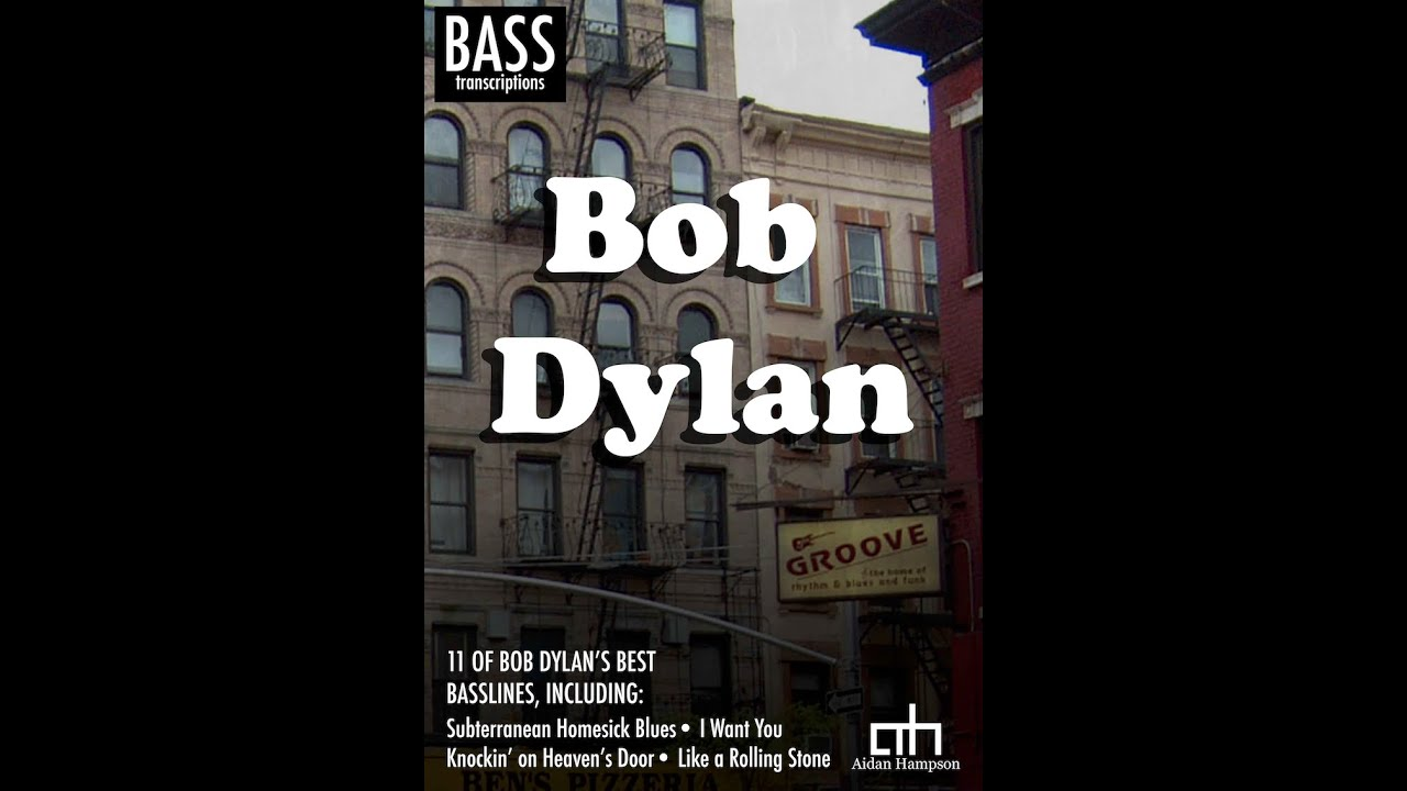 Bob dylan bass transcription book youtube bob dylan bass transcription book hexwebz Choice Image