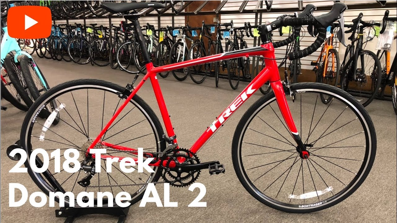 4cebff7d168 Ready to get your first road bike? The 2018 Trek Domane AL 2 - YouTube