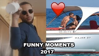 NEW Stephen Curry FUNNY MOMENTS 2017 Part 3