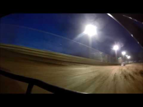 Ohio Valley Speedway Modified Heat Race Kyle Bond 5-28-2016 GoPro