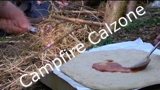 Campfire Calzone Pizza