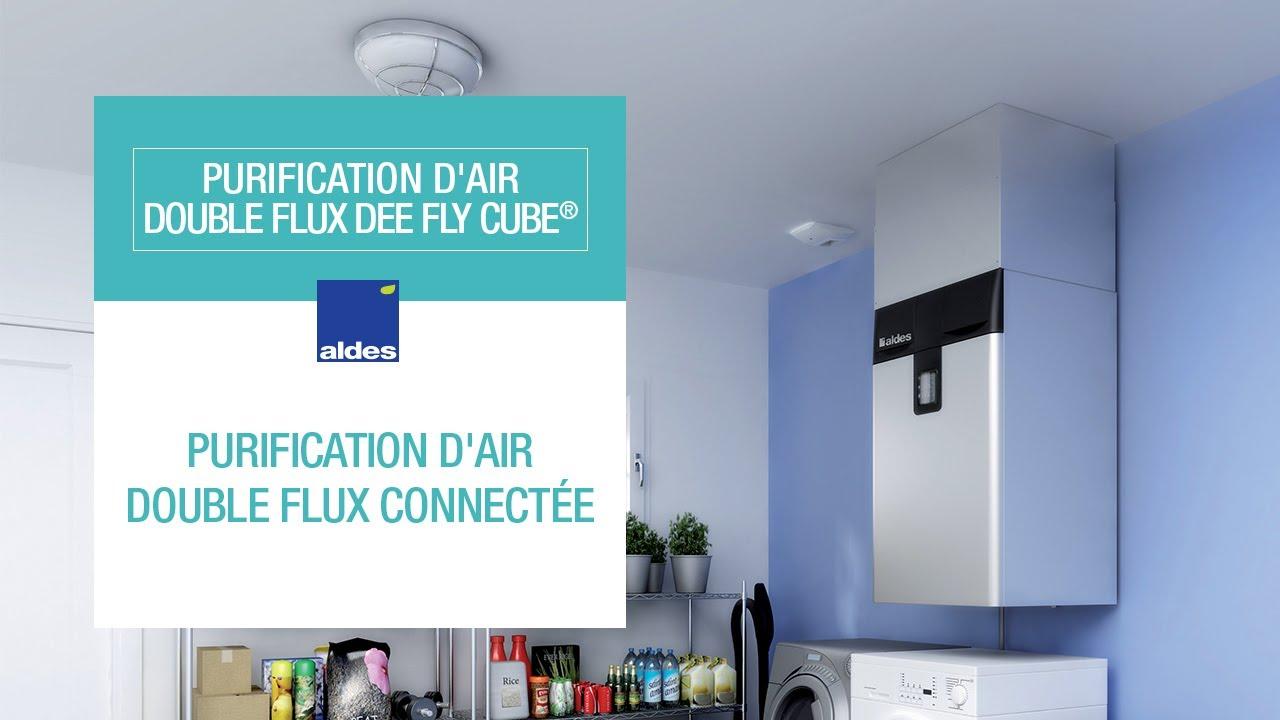 Purification d\'air double flux connectée : Dee Fly Cube® - YouTube
