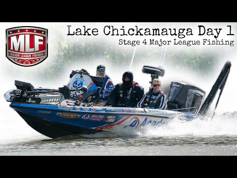 Major League Fishing on my HOME lake! Lake Chickamauga Day 1 BPT