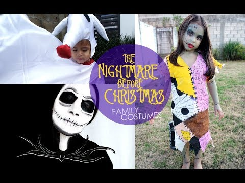 DIY | THE NIGHTMARE BEFORE CHRISTMAS COSTUMES