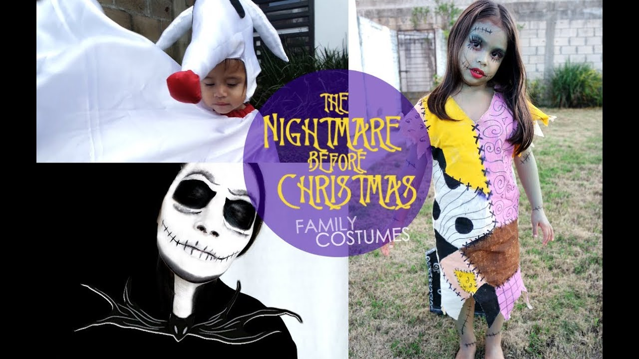 diy the nightmare before christmas costumes - Diy Christmas Costumes