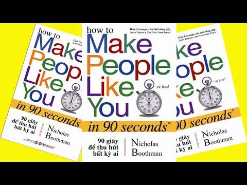 Đọc Sách Thuê | 90s để thu hút bất kỳ ai | Sách kỹ năng giao tiếp hay | Sách nói