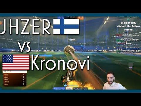 Rocket League | JHZER vs KRONOVI | 1v1 Showmatch