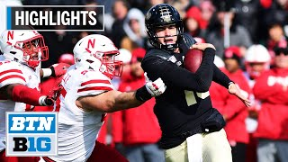 Highlights: Plummer Tosses 2 TDs in Win Nebraska at Purdue Nov. 2, 2019