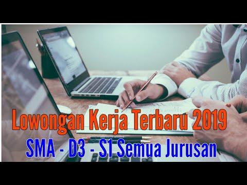 Lowongan Kerja Terbaru Januari 2019 | SMA - D3 - S1 | Loker 2019