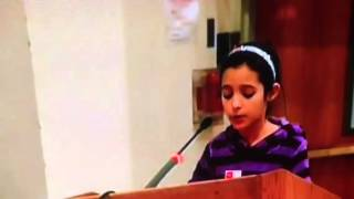 10 Year Old Speaks Against PARCC at Board of Ed Meeting
