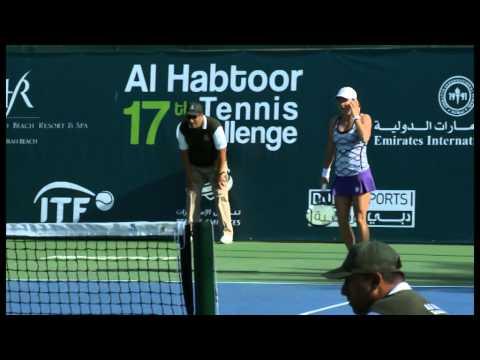 17TH AL HABTOOR TENNIS CHALLENGE SINGLES SEMI-FINAL MATCH 1