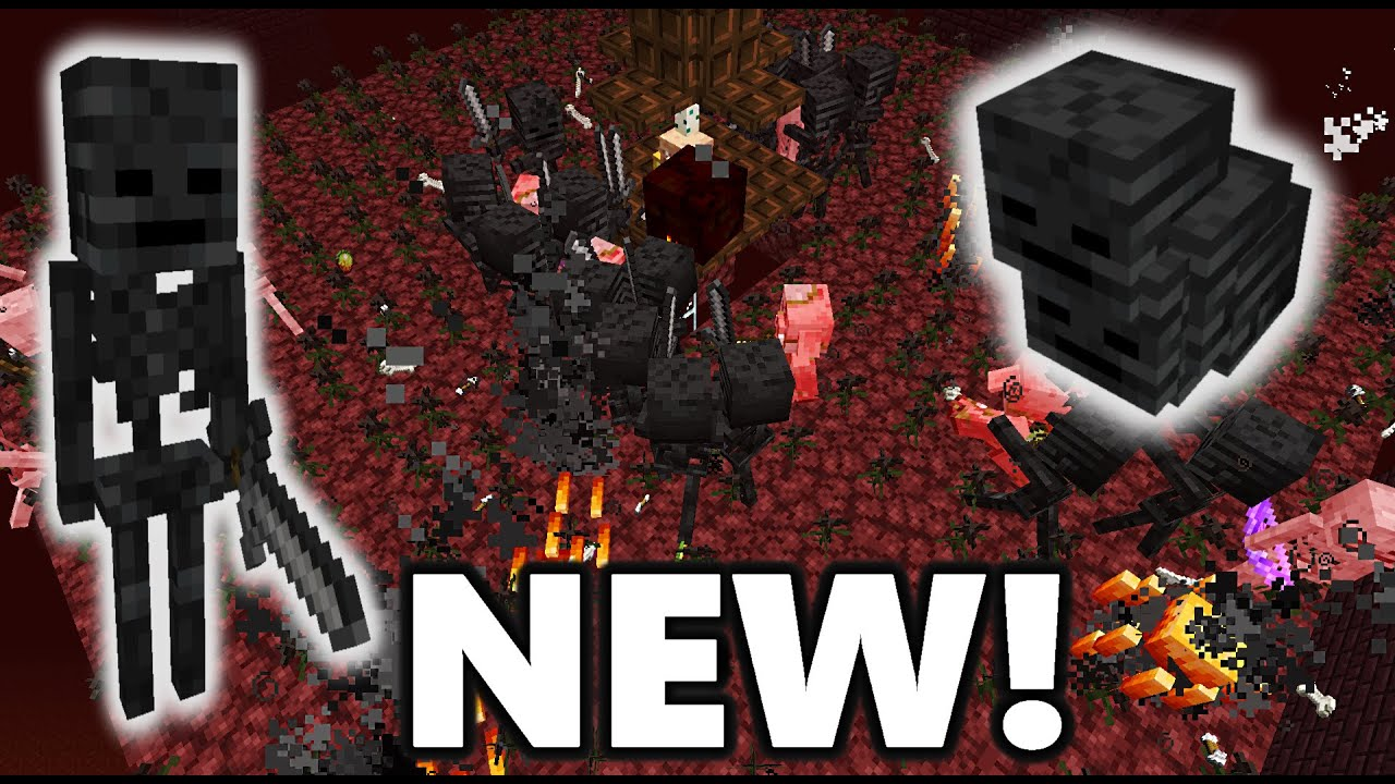 NEW Simple Wither Skeleton Farm! 6.66-6.67 Minecraft