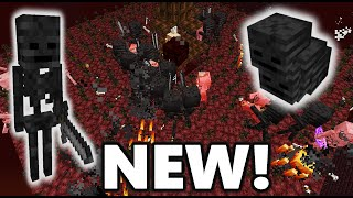 NEW Simple Wither Skeleton Farm! 1.16-1.16.2+ Minecraft